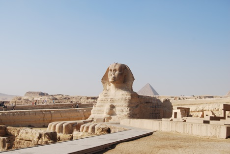 Sphinx at Giza, Egypt